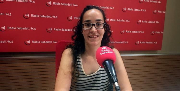 Anna Lara, regidora de la Crida/ Ràdio Sabadell