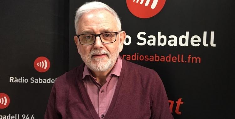 Salvador Obiols, en una imatge d'arxiu/ Ràdio Sabadell