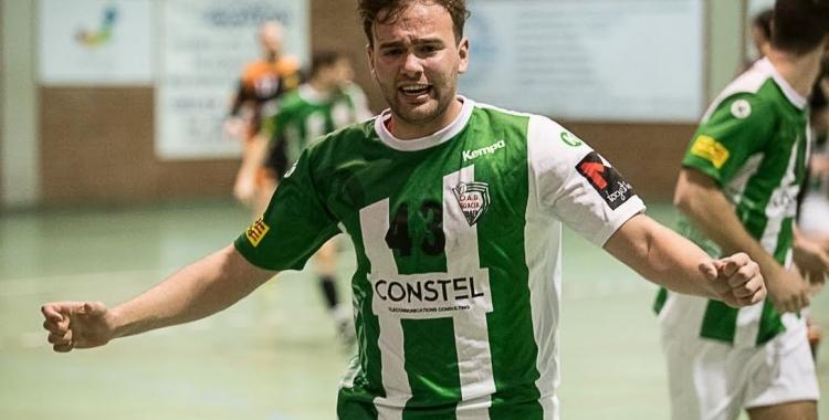 Entre els dos Correro, Bernat i Guillem, van fer 16 gols per a l'OAR Gràcia.   Èric Altimis - OAR Gràcia