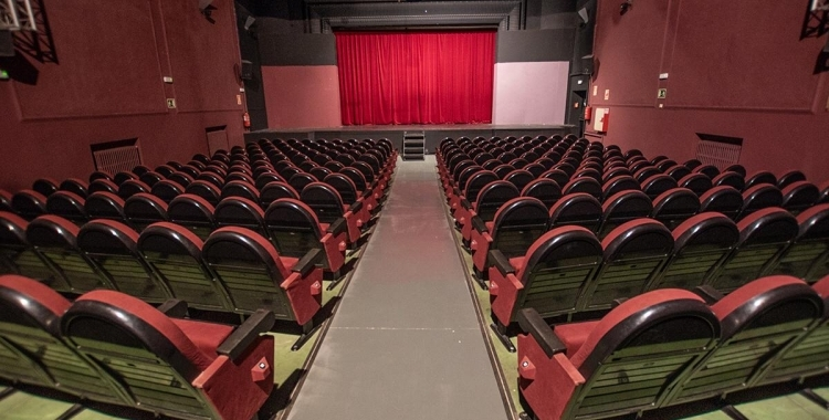 La platea del teatre Sant Vicenç | Roger Benet