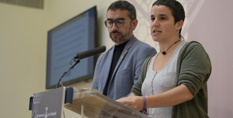 Glòria Rubio i Gabriel Feández   Roger Benet