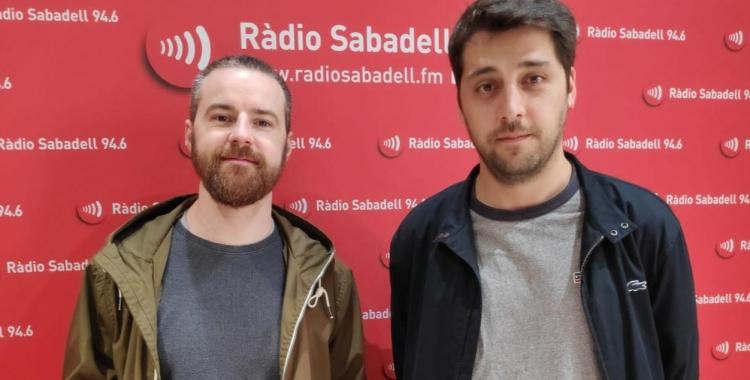 Mario García i Marc Rius a l'estudi | Pau Duran
