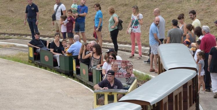 Trenet del Parc Catalunya | Roger Benet