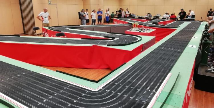 Un dels circuits de la Fira Internacional ForoSlot | Cedida