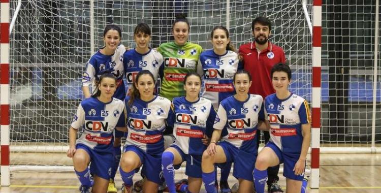 Moltes de les cares de la plantilla del Futbol Sala Sabadell femení repetiran la temporada que ve. | FCF