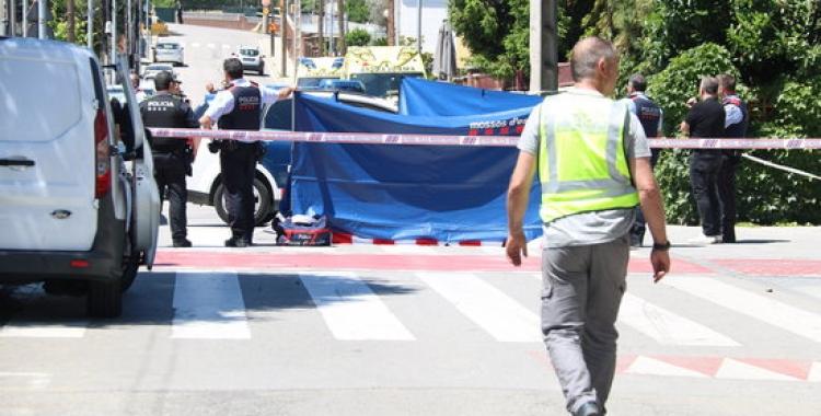 Els Mossos treballant al lloc dels fets | ACN