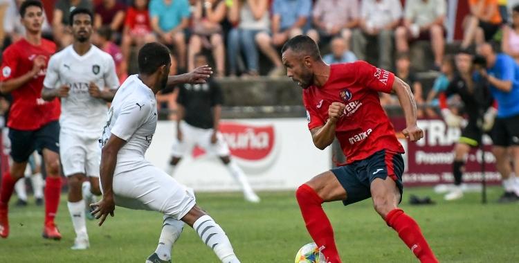 L'Olot va guanyar l'Al Sadd en l'últim partit jugat per l'equip de Xavi Hernández   UEO1921
