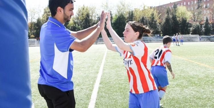 Issam El Azzouzi ve de consolidar a Primera Catalana el Martorell.   CF Martorell