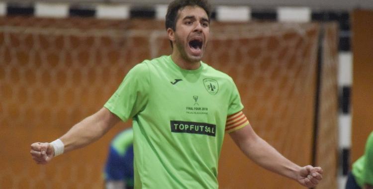 Sardà, en un partit d'aquesta darrera temporada | Roger Benet