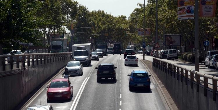Vehicles circulant per la Gran Via | Roger Benet