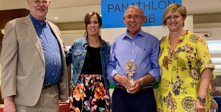 Imatge de Murillo acompanyat de Masip, Farrés i Martínez | Pau Vituri