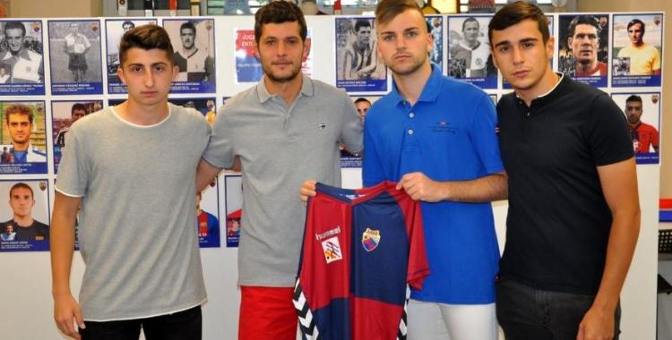 Carlos López ja té els tres capitans escollits: Silvestre, Soto i Ruano | jmguarch