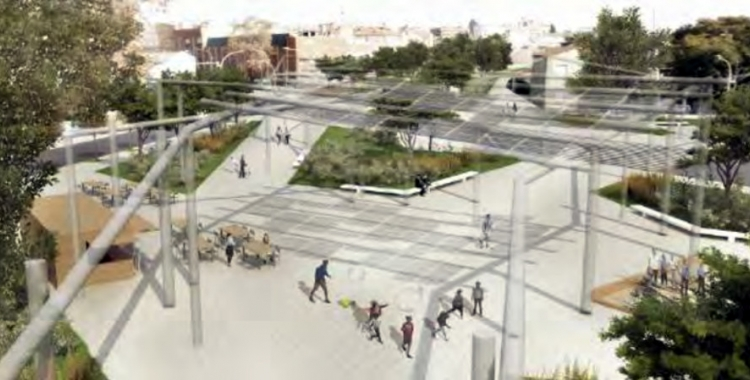 Imatge del projecte 'Teixint els barris'   EFA Arquitectes
