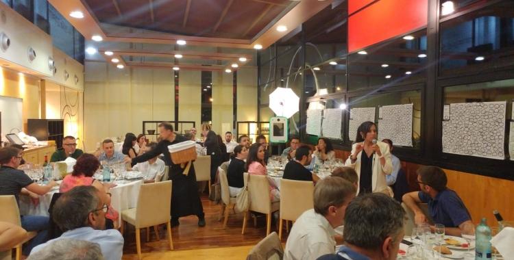 El sopar de la Xarxa Onion s'ha celebrat al Club de Tennis Sabadell   Pere Gallifa