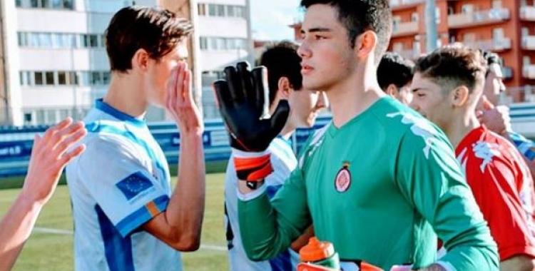Adrià Collet (19) és, de moment, l'últim fitxatge del Sabadell. | Instagram