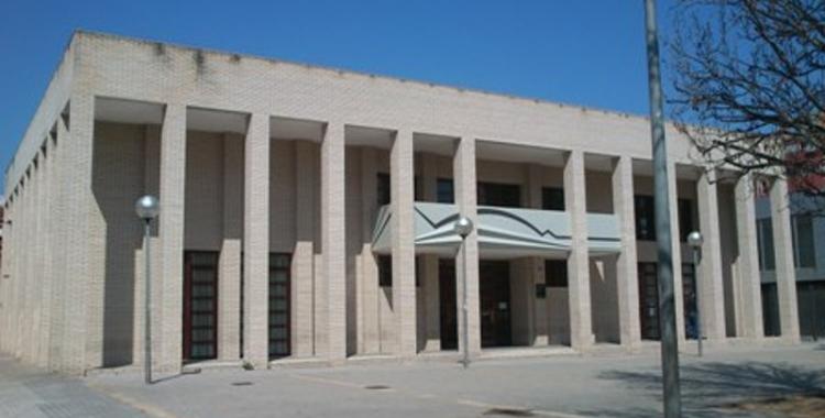 Imatge del centre cívic de la Creu de Barberà   Cedida