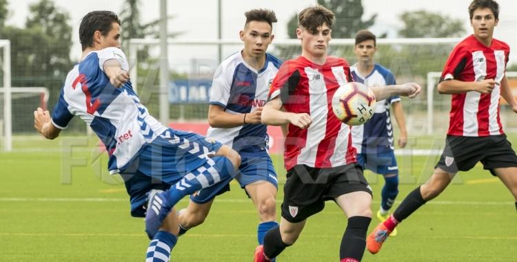 Imatge de l'Athletic-Sabadell disputat diumenge a Lezama | zabaletafotografia.com