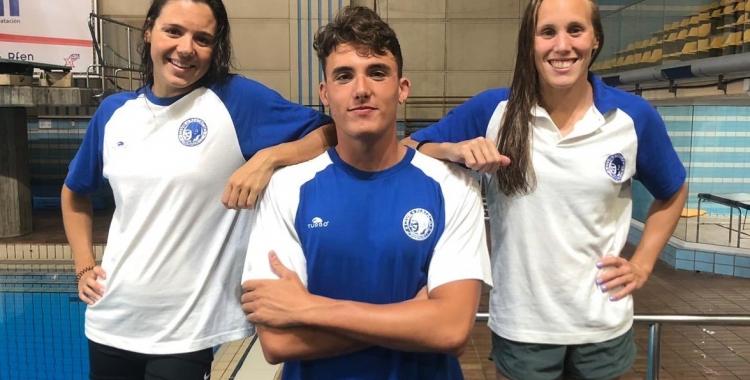 Cata Corró, Sergio De Celis i Marina Garcia seran tres dels nedadors més destacats del Sabadell | CNS