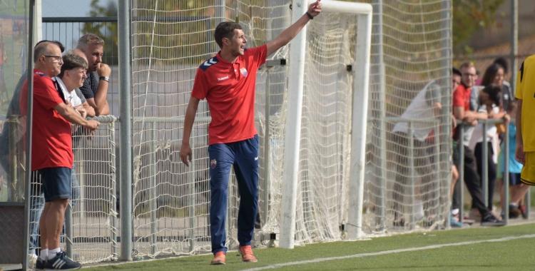 López, dirigint un partit de la temporada passada | Roger Benet