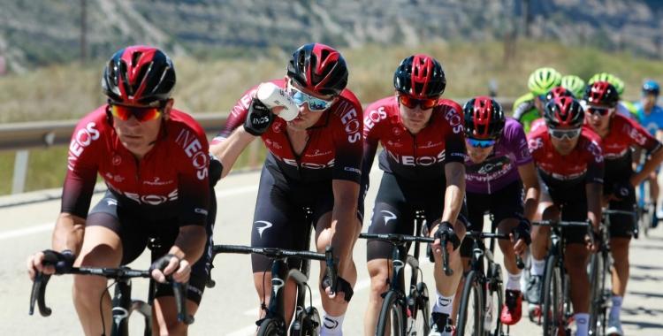 De la Cruz podrà vestir-se, finalment, amb el mallot de l'Ineos a La Vuelta.   Vuelta a Burgos