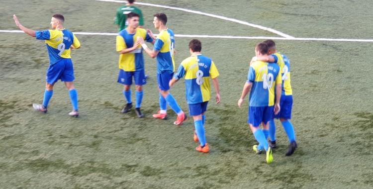 Celebració del gol de Jairo | @SabadellNord