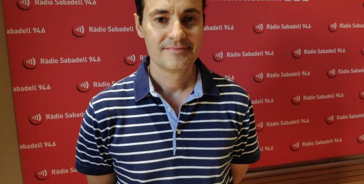 El gerent de l'Orquestra Simfònica del Vallès, ÒscarLanuza | Pau Duran