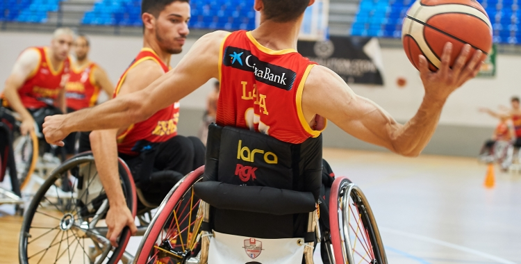 La selecció espanyola de bàsquet en cadira de rodes es concentrarà a Andorra fins el proper dia 23.| FEDDF