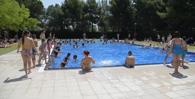 Imatge d'una de les piscines municipals de Sabadell | Roger Benet