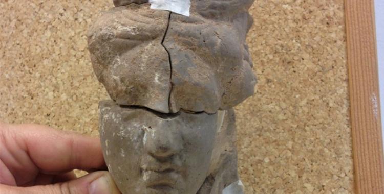 Imatge del timateri remuntat/ Museu d'Història de Cerdanyola