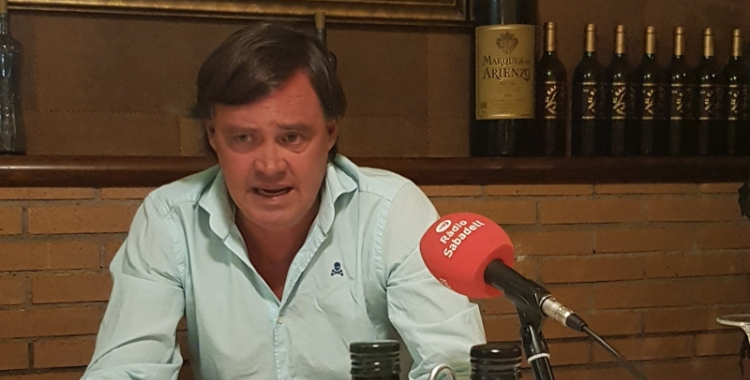 Esteban Gesa, president del PP a Sabadell