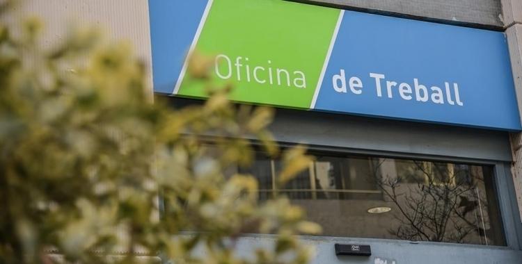 Exterior de l'Oficina de Treball de Sabadell/ Arxiu Roger Benet
