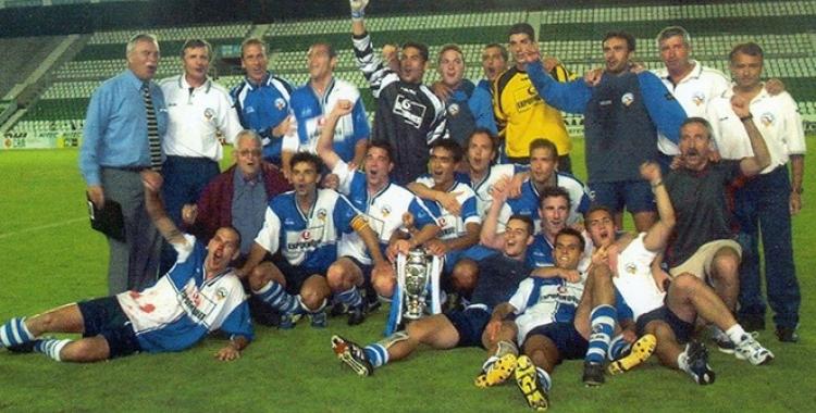El Sabadell va guanyar la Copa Federació l'any 2000 a Elx   CES