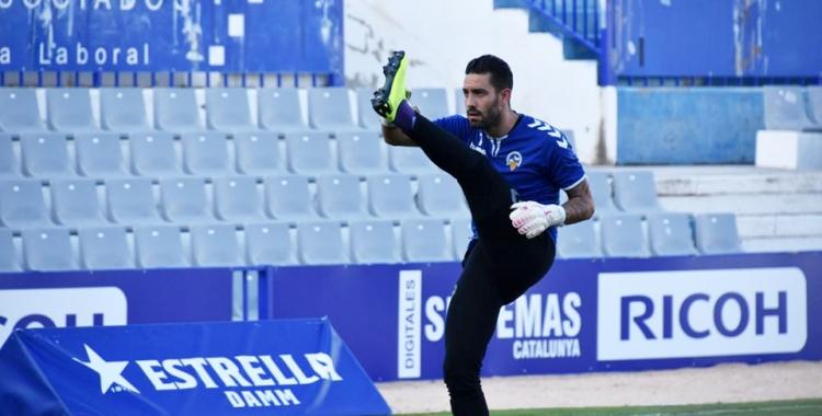 Ian Mackay està demostrant la seva qualitat sota pals en els primers partits de lliga | Críspulo Díaz