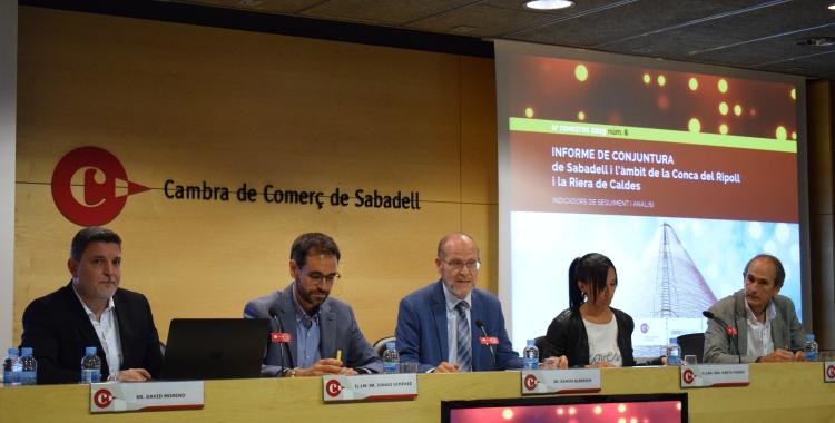 Presentació de l'Informe de Conjuntura | Cedida