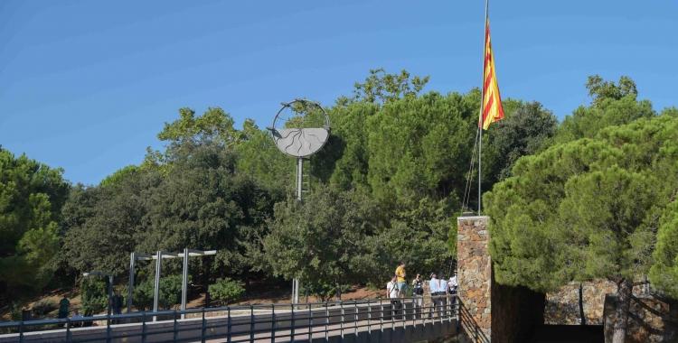 El pont del Parc Catalunya acollirà l'acte institucional de la Diada/ Arxiu Roger Benet