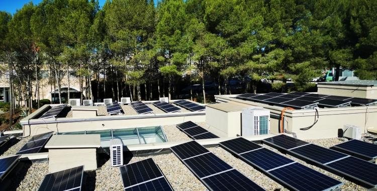 Les plaques solars del Consell Comarcal/ Consell Comarcal del Vallès Occidental