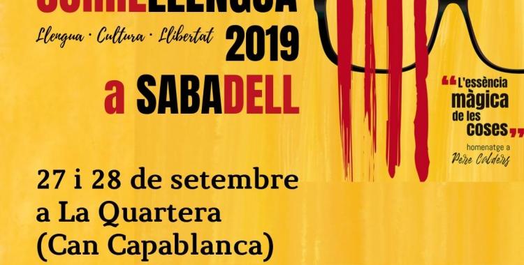 El Correllengua torna a Sabadell aquest cap de setmana per reivindicar la llengua i la cultura catalana   Cedida