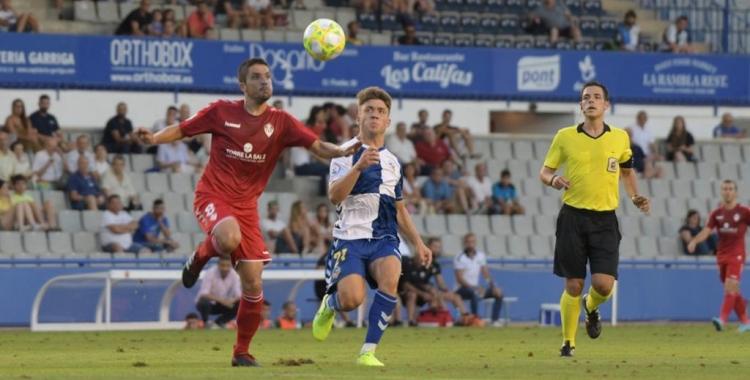 El Sabadell-Castellón de la primera jornada es podria repetir a la Copa RFEF | Roger Benet