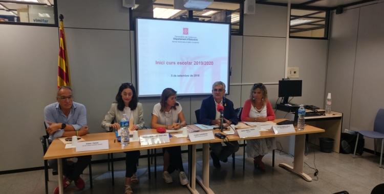 Presentació del curs escolar a Serveis Territorials al Vallès Occidental | Ràdio Sabadell