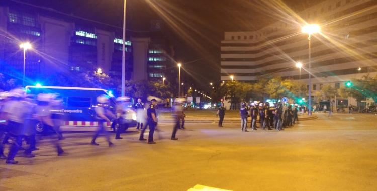 Els Mossos han carregat a plaça Catalunya | Pere Gallifa