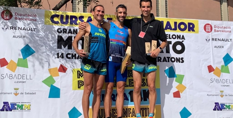 Podi de la categoria masculina de la Mitja Marató | Pau Vituri
