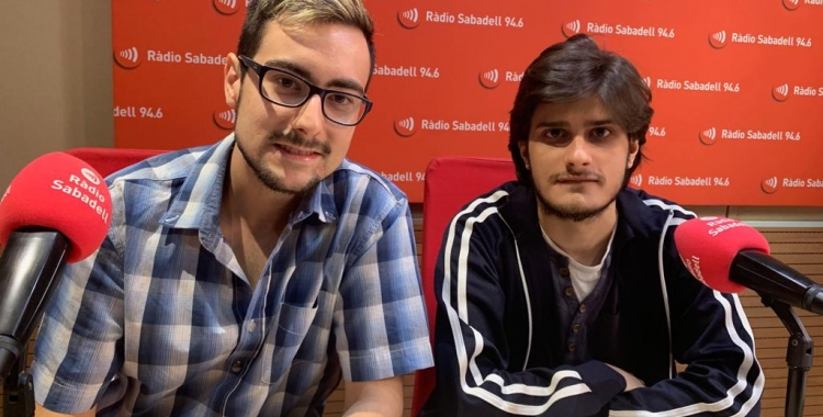 Adrià Garcia i Sergio Alcalà   Mireia Sans