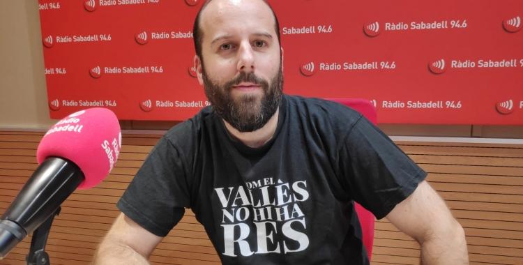 El programador de l'espai La Quartera, Albert González | Pau Duran