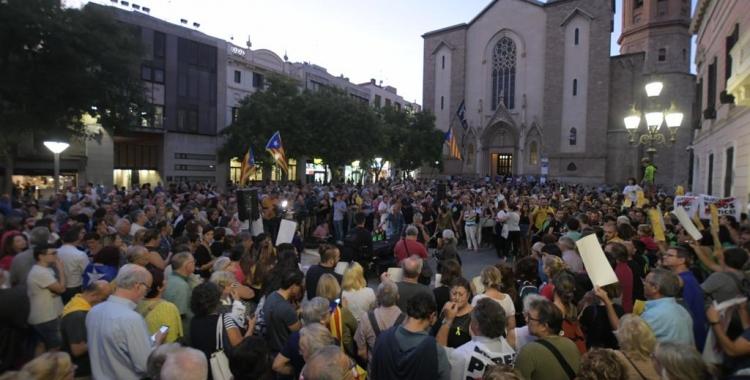 3.000 persones reclamen l'alliberament dels set detinguts el 23-S | Roger Benet
