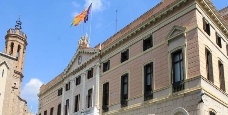 Exterior de l'Ajuntament/ Cedida