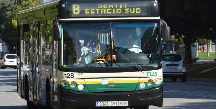 Un autobús de la TUS | Roger Benet