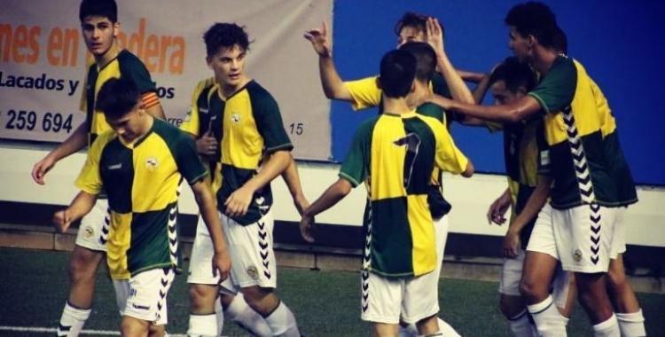 El Sabadell juvenil suma quatre punts de sis possibles. | @FutBaseCES