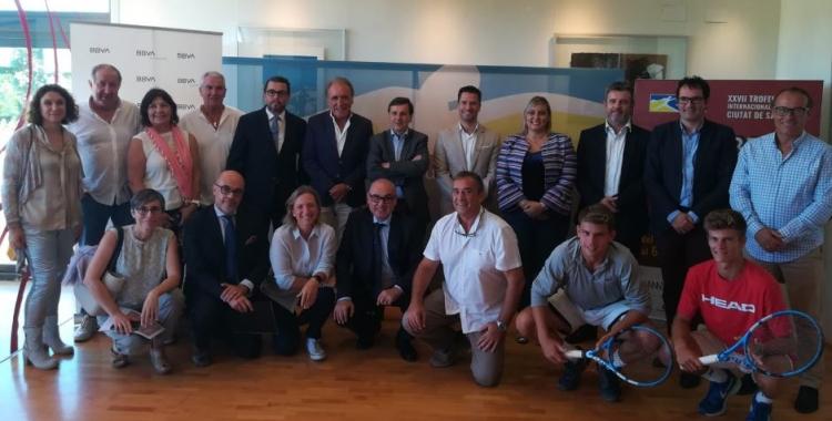 Les instal·lacions del Tennis Sabadell han acollit l'acte de presentació.   Sergi Park