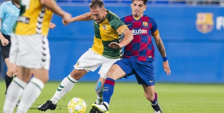 El capità Àngel es perdrà el Sabadell-Badalona per acumulació de targetes | Víctor Salgado (FCB)