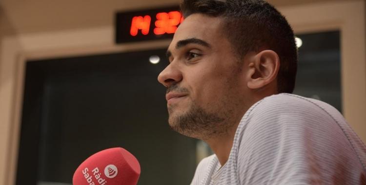 El nedador sabadellenc ha valorat avui a Ràdio Sabadell el subcampionat del món assolit   Roger Benet